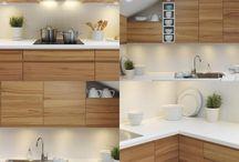 Encimeras y alicatados cocina / Cocina