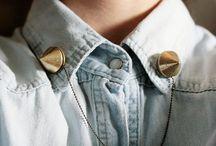Madewell DIY Collar Necklace Pin