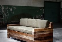 RECLAIMED WOOD, BENCH