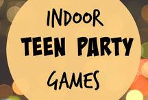 party activities for teens birthday