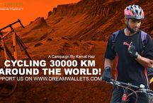 CYCLING 30000 KM AROUND THE WORLD! / ONE GUY ON A MISSION. CYCLING 30,000 KM AROUND THE WORLD IN 120 DAYS TO CREATE AWARENESS ABOUT DIABETES AND PROMOTION OF MILLETS.