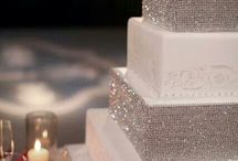 Sparkle, Bling Wedding Cakes