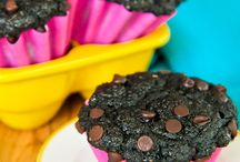 Gf oat flour muffins / Gf Choc oat muffins
