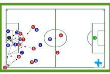 Ejercicios de entrenamiento de Fútbol / Ejercicios para el entrenamiento de Fútbol