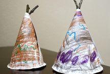 Thanksgiving and Native Americans Preschool Theme