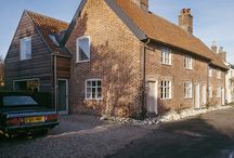 The Old Hall, Orford / The Old Hall in Suffolk is a complex restoration project involving a 16th Century oak-framed hall house with many later alterations and additions.