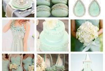 My Mint, Gold & Blush Wedding Theme / this will be the colors of my wedding come God knows when. <3 :)