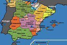 Spanje, Spain, Spanien, España / Spanje een prachtig vakantieland. Ik hoop dat u ook enthousiast zult worden, na het lezen van mijn verhalen