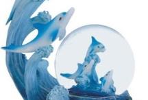 Beautiful dolphin ornaments
