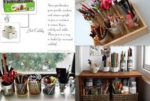 Art studio organization