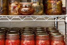 Canning / how to can food. canning food. Persevering food