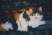 Animal Paintings / Animal Paintings by LaMerle Deca