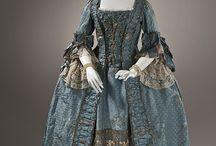 Robe à la française 18e siècle