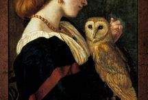 Owls in arts