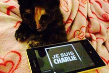 Je suis Charlie / La contribution de nos fans pour les 17 victimes de l'attentat Charlie Hebdo, des fusillades, prises d'otage qui ont suivies.