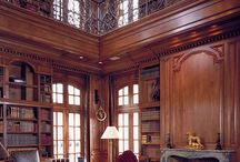 beautiful elegant library