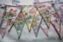 Bunting & Pennants / Brighten up your life with bunting - even better if it's homemade!