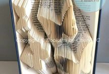 BOOK FOLDING / The art of folding the pages of a book to create something beautiful!