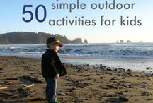 Activities for Kids outdoors