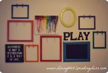 Wandgestaltung Kinder kreativ