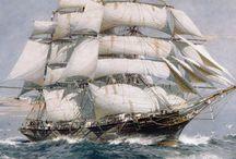 Boats and sailing ships