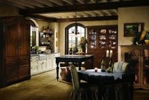 kitchens/dinning / by Robin Gallagher