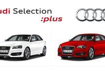 Audi Selection Plus / Tenemos una filosofía simple y clara sobre la adquisición de un Audi Selection :plus ofrecer las mismas garantías que en un vehículo nuevo.  Elegir un Audi es decidirse por un automóvil con una calidad excepcional y prestaciones técnicas avanzadas.