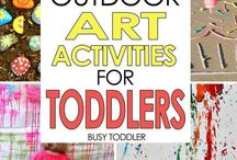 Outdoor play / Ideas for playing outdoors. Games, toys and activities