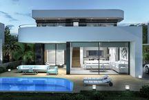 San Juán Dénia / Nuevo Residencial privado en Dénia, construcción exclusiva de viviendas unifamiliares de diseño moderno y funcional en parcelas individuales. En un entorno privilegiado y con todos los servicios que necesita a su alcance.