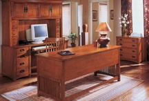 Home Office Furniture / Here are some desks and cabinets that will help you turn an ordinary room in your home in to an extraordinary workspace.
