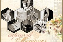 Scrapbook Ideas - Hexagons / Love hexagons and am glad they seem to be the mode of today; these layouts showcase these shapes at their best
