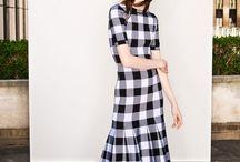 Kockovane šaty