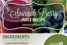 Juice Recipes / Juicing for a healthier you! / by Terri Kent