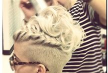 Mohawk hairstyle