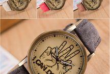 "Relojes de Pulsera ""I Can Do It"" / #Relojes #RelojesBaratos #Watch #Watches #CheapWatches"