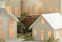 non-edible Gingerbread Houses / gingerbread house gingerbread Christmas house cookie house