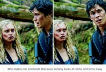 Bellarke and The 100