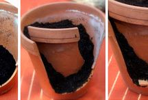 mini jardin ds pots casses