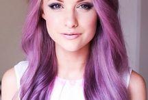Purple Hair Chalk / Purple Hair. / by HairChalk.co