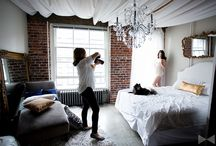 Inspiration: Boudoir studio / Images that inspire me for design in my current home and future boudoir studios.