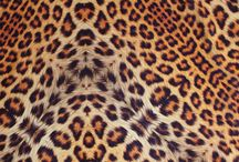Leopard Silk Square Scarf Collection / Silk square scarves in engineered leopard print with rolled edges. Every print is uniquely crafted for each individual scarf.