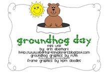 Groundhog Preschool Stuff