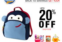 Back to school / Find the best Back to school deals at Nowkidding, School stationery, backpacks, bottles, lunch boxes and much more https://www.nowkidding.com/school-stationary