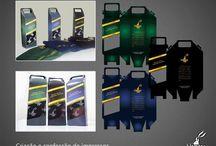 Papelaria e embalagens / Materiais gráficos criados ou impresos