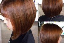 Eshal hair cut