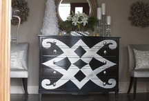 painted furniture / by Stacey Harris-Fish