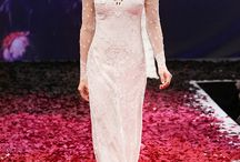 Claire Pettibone / A collection of the Claire Pettibone dresses we have in store.