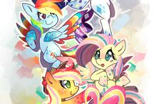 my little pony / by Kerrie Charlton