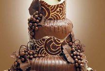 tortas de chocolate