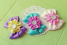 JennyBows / 리본공예, 소잉, Handicraft , Hair bows